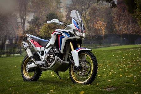 Africa Twin Adventure Sports Concept, recordando a su predecesora