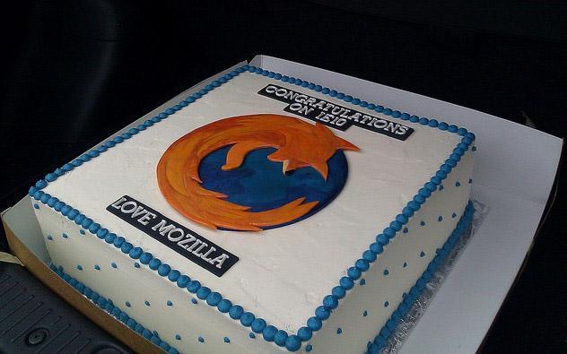 Mozilla Cake
