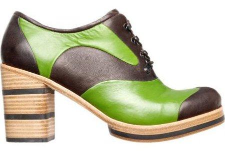 Los espectaculares zapatos de tacón de Bernhard Willhelm para Camper