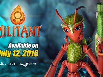 Ha sido una larga espera, pero MilitAnt al fin tiene fecha de lanzamiento