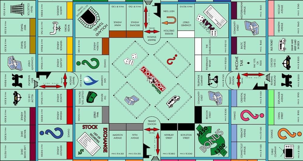 El Monopoly Definitivo Diseñado Por Un Fan Del Mítico Juego De Tablero Y Finanzas Más Niveles Más Calles Más Tarjetas Y Más Dinero