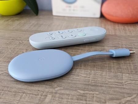 El nuevo Chromecast con Google TV es un completo centro multimedia 4K Dolby Vision por 64,99 euros en MediaMarkt