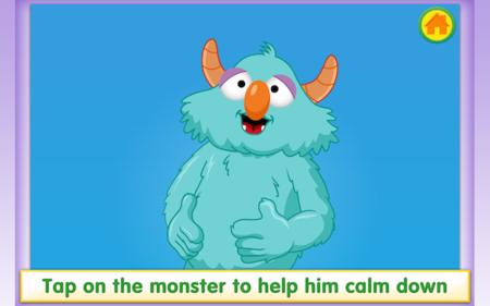 Aplicación de Sesame Street para ayudar a los niños a mantener la calma ante la frustración