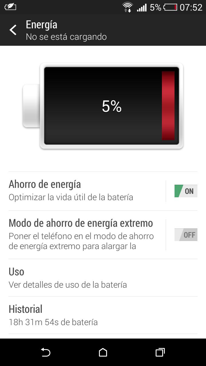HTC Desire 816, rendimiento