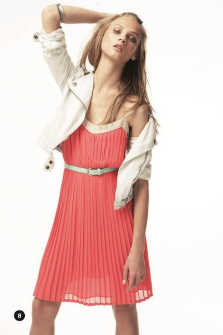 Vestido Mango lookbook primavera 2012