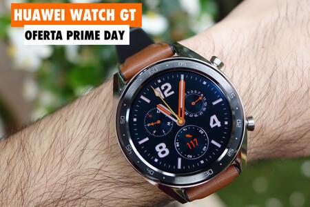 Autonomía bestial y precio de escándalo: Huawei Watch GT por sólo 79 euros en el Prime Day 2020