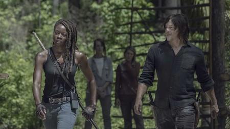 The Walking Dead Season 10 Michonne Gurira Daryl Reedus