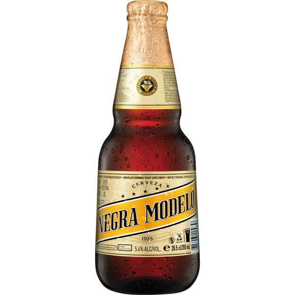 Cerveza negra mejicana botella 35,50cl