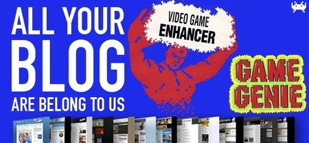 Jugador social, setas y Game Genie. All Your Blog Are Belong To Us (CCIII)