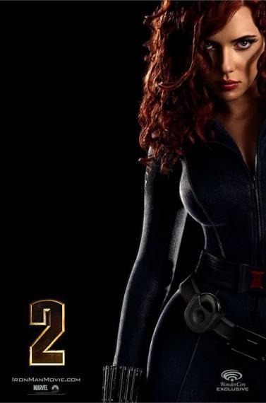 Cartel definitivo de 'Iron Man 2', nuevas fotos y tráiler para IMAX