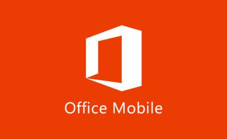 Microsoft Office Mobile pasa a ser gratuita para móviles