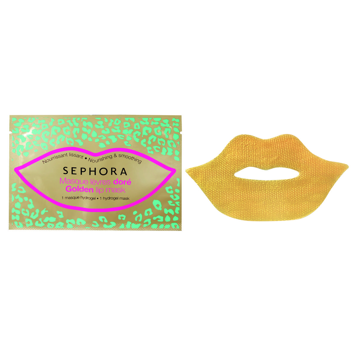 Mascarilla de labios de oro de Sephora Collection
