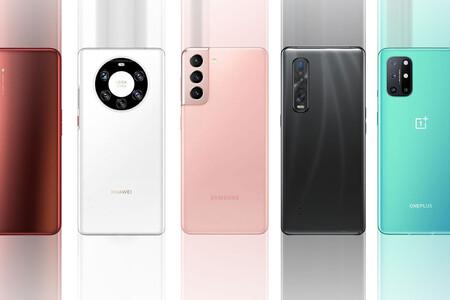 Samsung Galaxy S21 Ultra, comparativa: así queda contra el Xiaomi Mi 11, Huawei Mate 40 Pro+ y resto de gama alta Android
