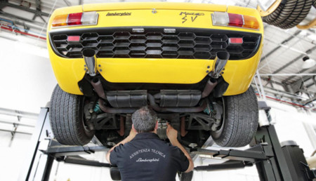 Lamborghini Polo Storico, nueva división de clásicos