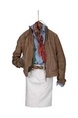 Lookbook Massimo Dutti Otoño-Invierno 2010/2011, falda