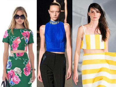 Los crop top en colores Neoncandy para resaltar tu piel este verano