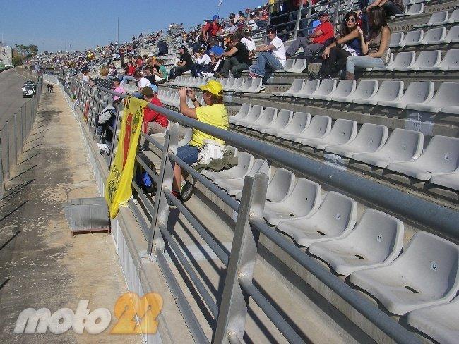 MotoGP Valencia 2010 tribuna