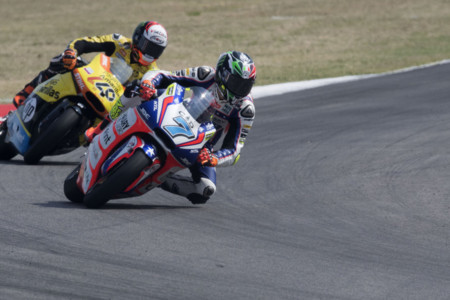 Lorenzo Baldassarri Alex Rins Misano Moto2 2016