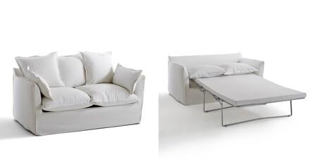 Sofa Convertible De Algodon Lino Bultex Odna