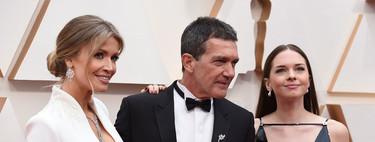 Antonio Banderas, Nicole Kimpel y Stella Banderas brillan en la alfombra roja de los Oscar 2020