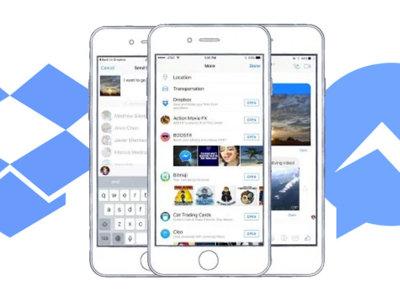 Facebook Messenger se alía con Dropbox y también incorpora el poder compartir archivos