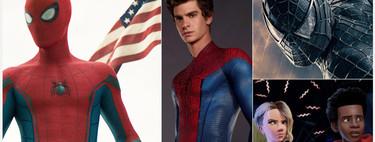 Todas las películas de Spider-Man clasificadas de peor a mejor