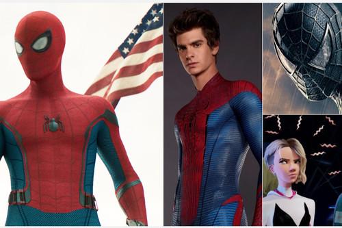 Todas las películas de Spider-Man ordenadas de peor a mejor