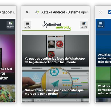 Chrome añade la interfaz de Android P en las pestañas abiertas: así puedes probarla