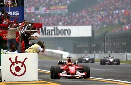 Schumacher Suzuki F1 2003
