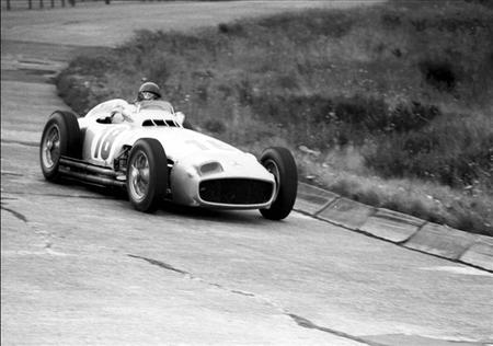 Nico Rosberg rodará en Nürburgring Nordschleife con el Mercedes-Benz W196 de Fangio