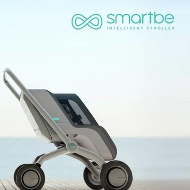 Smartbe, el primer cochecito de bebé que se maneja desde el móvil