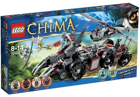 Lego reactiva la lucha por el control del Chi y presenta ocho juegos de construcción