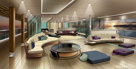 Silverlining, interiorismo de lujo en yates en el Monaco Yacht Show
