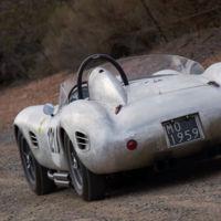 El espíritu de Fangio perdura 20 años después, en el Ferrari 250 TR recuperado por Peter Giacobbi