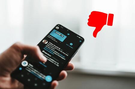 Twitter ya prueba los 'No me gusta' en las respuestas a tweets: así funciona su nuevo experimento