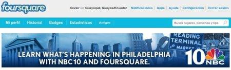 NBC apuesta por las noticias locales en Foursquare, ¿Tendrá éxito?