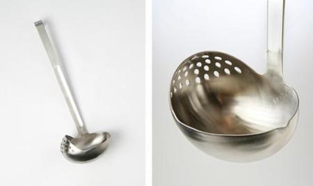 Cuchara y colador en un solo utensilio: el instrumento definitivo