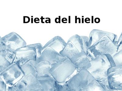 Dieta del hielo. Análisis de dietas milagro (LV)