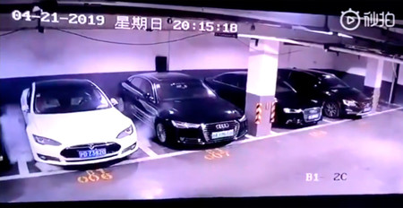 Tesla finalmente explicó por qué se incendió aquel Model S en Shanghai mientras estaba aparcado