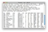 Tres comandos interesantes de Mac OS X para usar en la Terminal, segunda parte