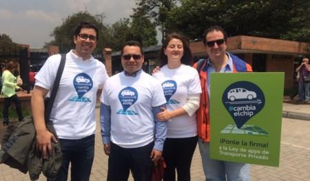 La campaña #CambiaElChip de Uber Colombia ya cuenta con más de 2.8 millones de firmas