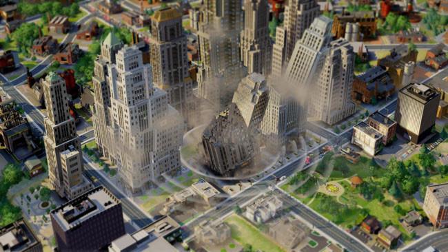 Pantallazo del SimCity