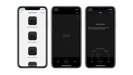 iTunes Remote se actualiza en iOS para mejorar su integración con Apple TV
