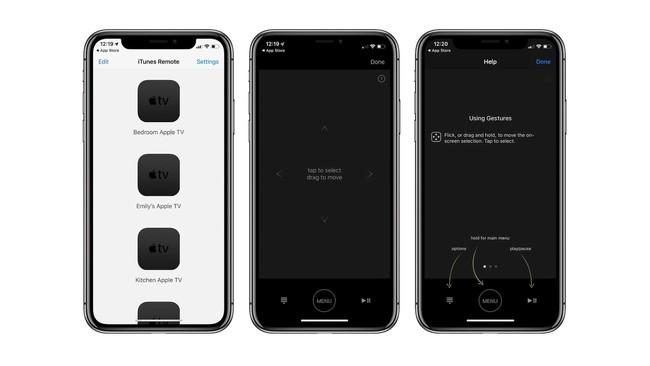 iTunes Remote se actualiza en iOS para mejorar su integración con Apple TV