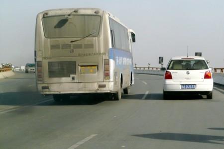 Autobús en Chengdu