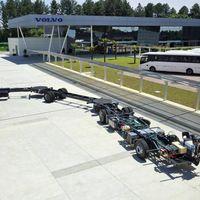 300 pasajeros y 30 metros, así es el mega-autobús de Volvo para descongestionar Brasil