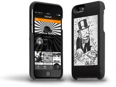 popSLATE es el accesorio perfecto para los iPhone que quieran parecerse al YotaPhone 2
