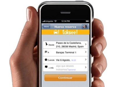 Taksee! aplicación para pedir taxis en Madrid