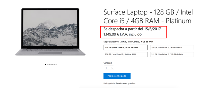 Surface Laptop