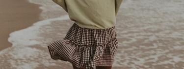 Las minifaldas vichy ponen el toque italiano a nuestros looks y estas nueve nos acompañarán todo el verano